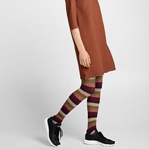 *3for$30* Striped tights made in Italy NWT